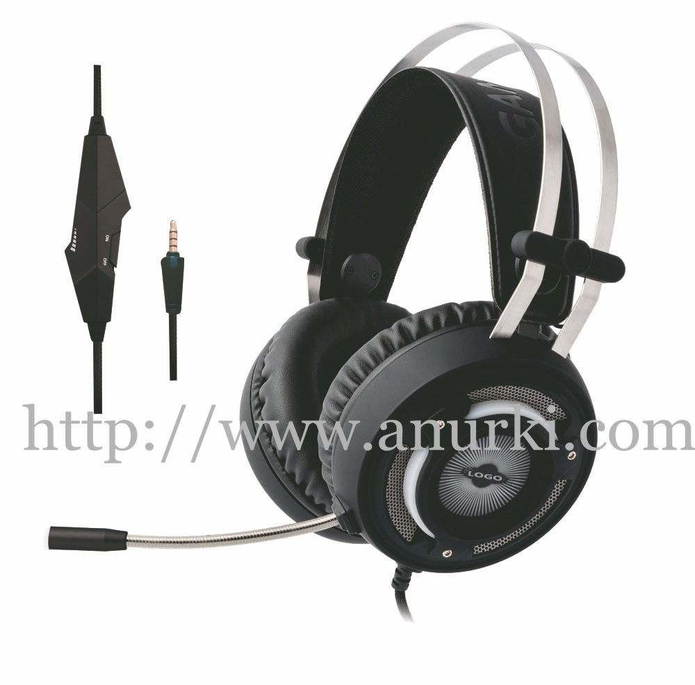 Virtual 7.1 channel Surround Sound Gaming headsets