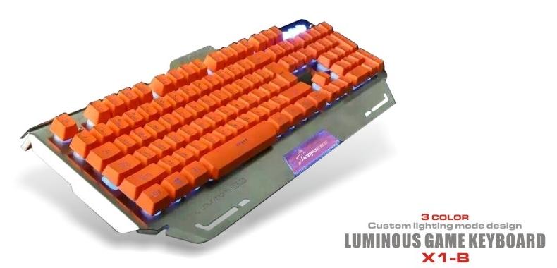 wired standard computer keyboards gaming keyboard X1-B