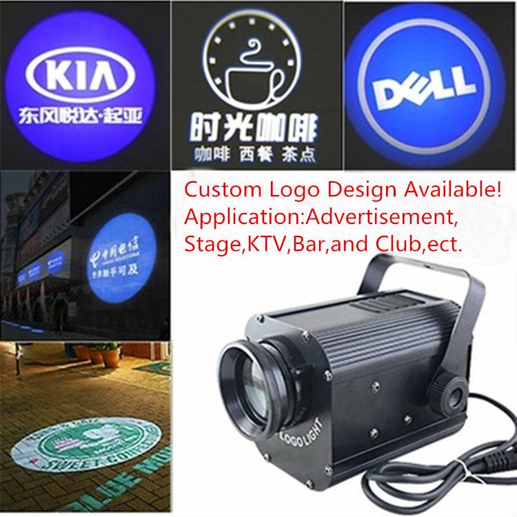LED 30W Logo Projector Rotating Lights,Custom Logo Available