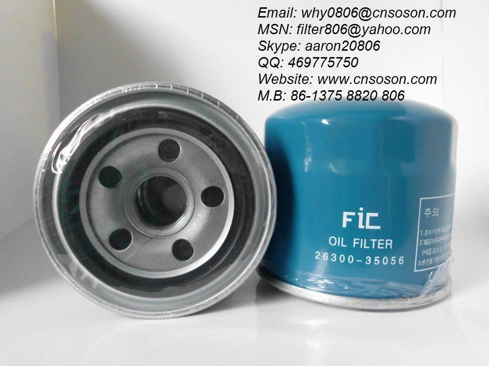 oil filter 26300-35056