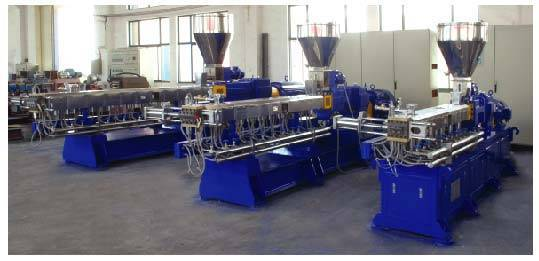 YT-50D Parallel Co-rotating Twin Screw Extruder