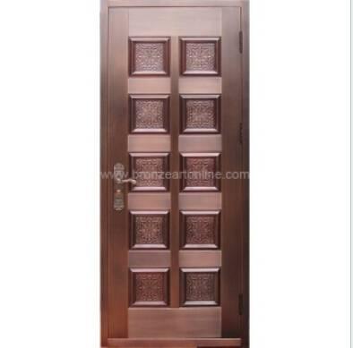 Home Entry Bronze Door GBD018