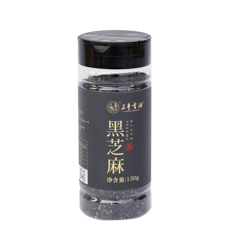 SANFENG Roasted black sesame seeds
