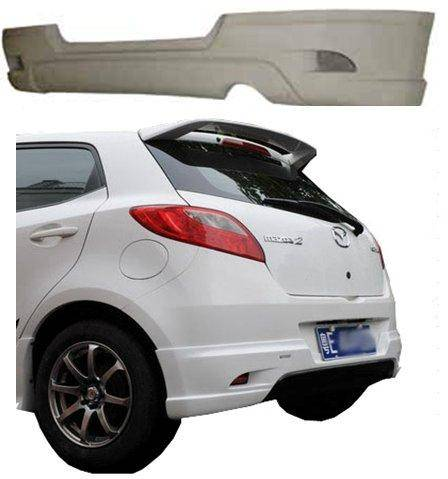 Mazda 2 Rear Spoiler Lip