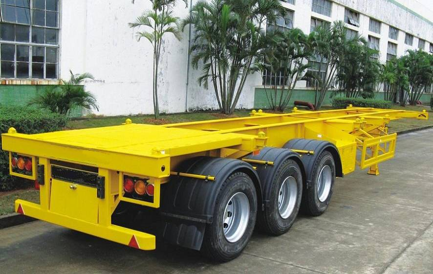 sell Lowbed semi-trailer