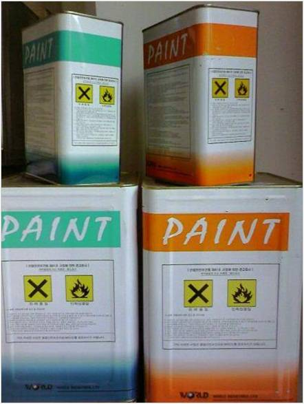 Epoxy paint