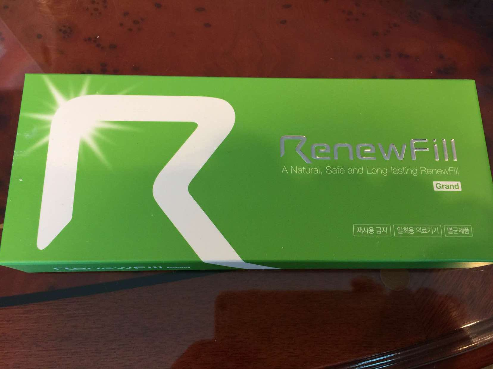 Injectable Sodium Hyaluronate Acid Hyaluronic: Renewfill