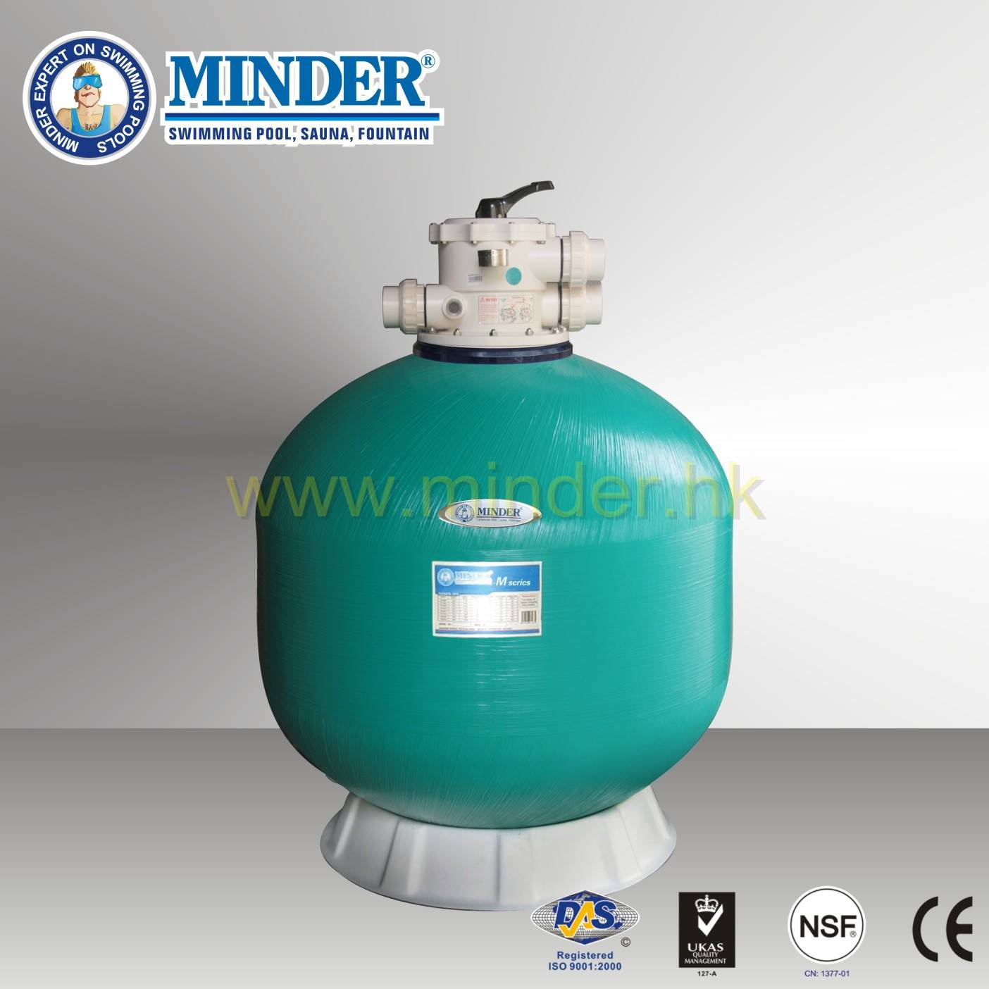Firberglass 2.0 inch Valve Swimming Pool Sand Filter