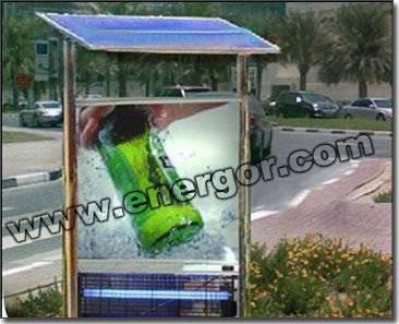 Solar Advertisement Board