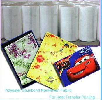 Polyester spunbond nonwoven