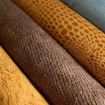 Bronzed Suede Fabric