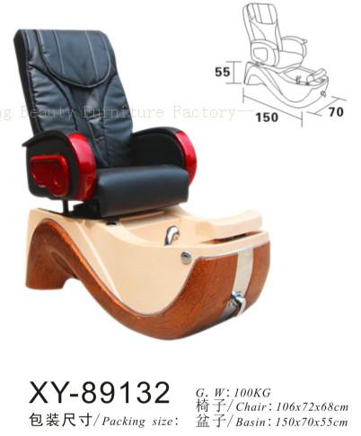 Salon Spa Pedicure Chair Fibreglass Sink XY-89132