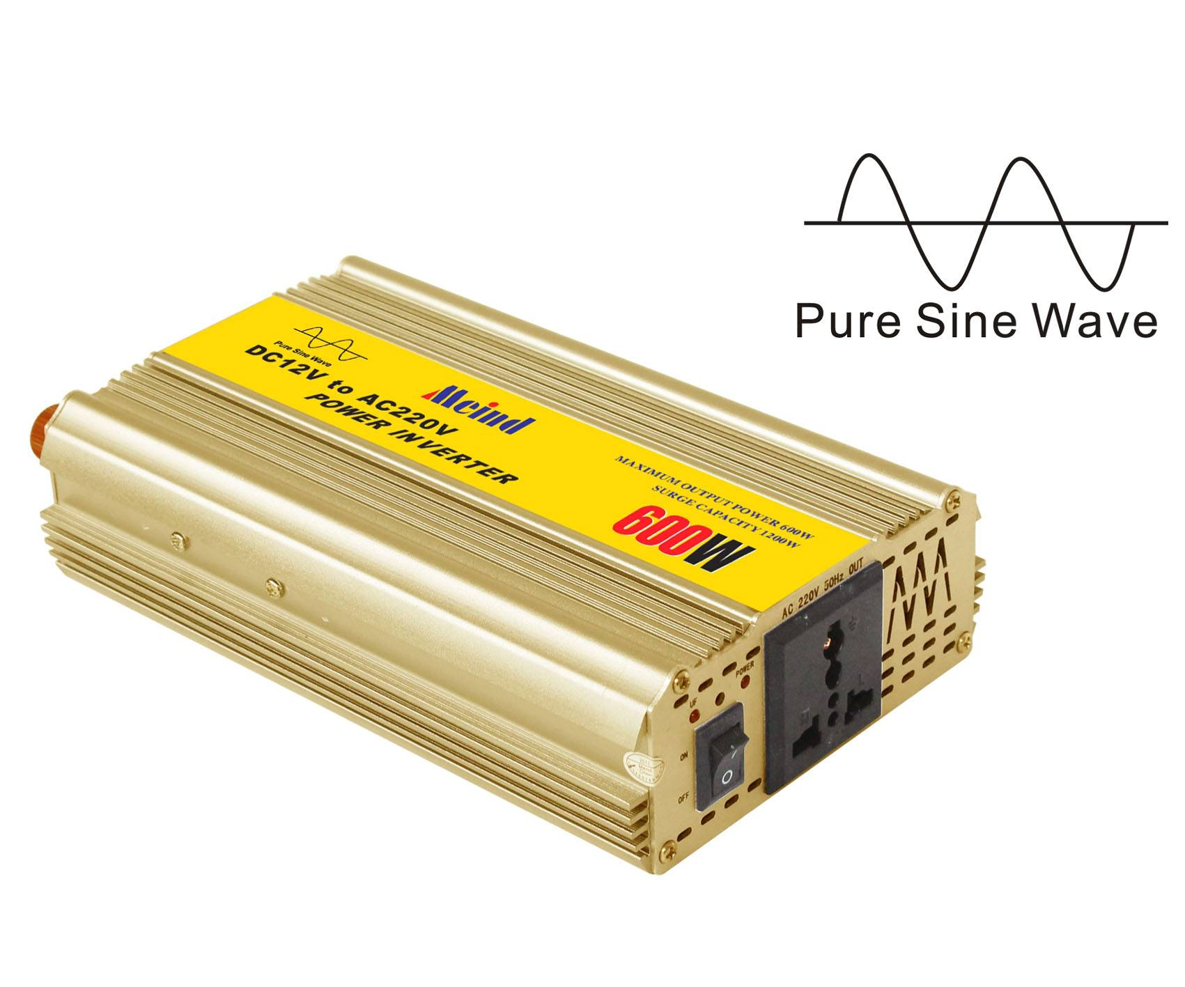 Meind 500W Pure Sine Wave Inverter for home,car,solar off grid system,etc