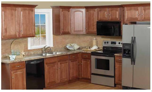 Kitchen cabinets exported directly from China woodware factory