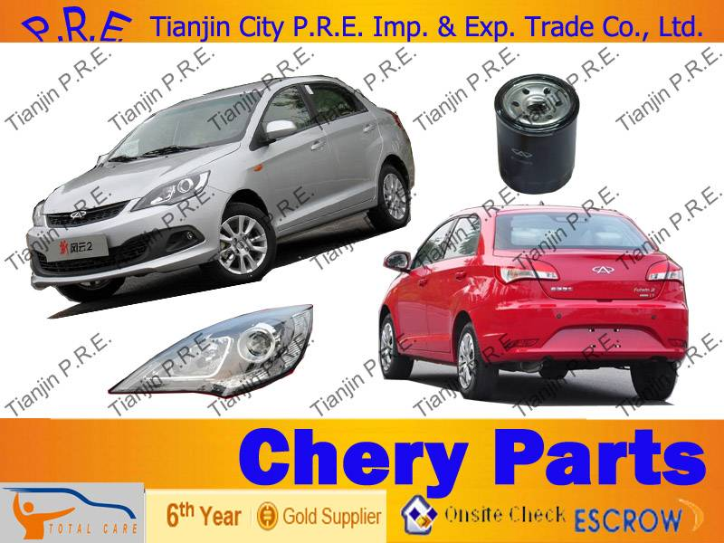 Chery fulwin spare parts