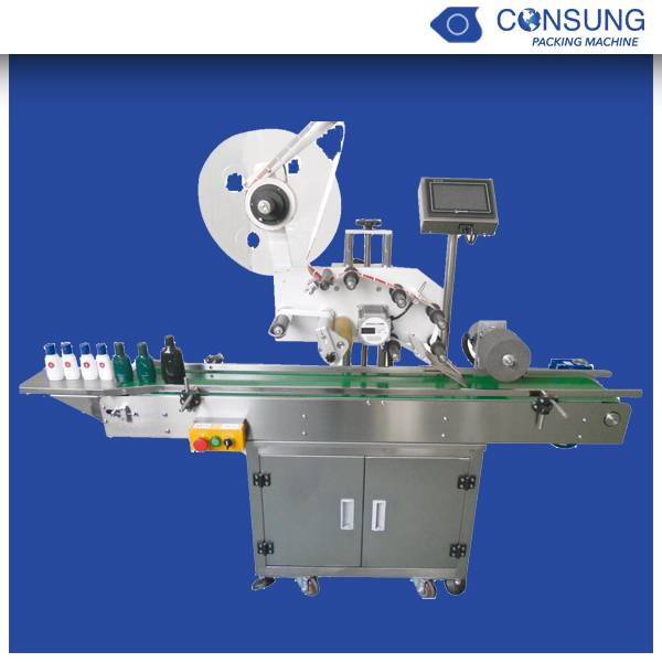 High quality toothbrush stick labeling machine
