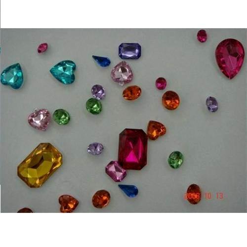 Acrylic rhinestone for clothing/ mobile/ cards decoration