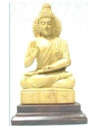 Buddha Statue in sitting position Sandalwood