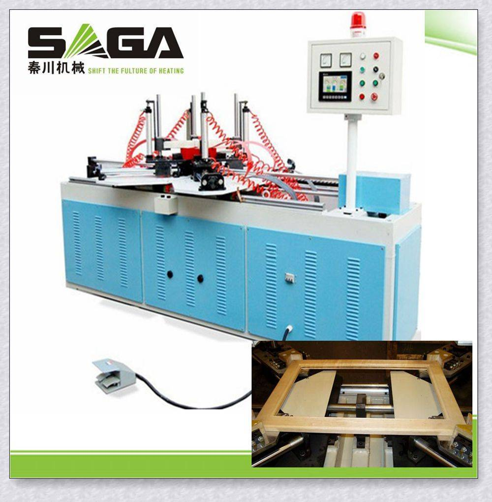 High frequency wooden frame assembly machine