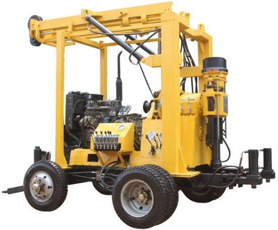 XYX-3 water well drilling rig, drilling depth 100m, 150m, 200m, 250m, 300m, 350m, 400m, 450m, 500m,