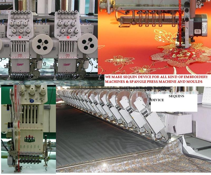 Sequin Device For Any Embroidery machine.