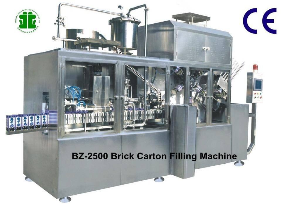 Combibloc Brick Carton Juice Packaging Machine (BZ-2500)