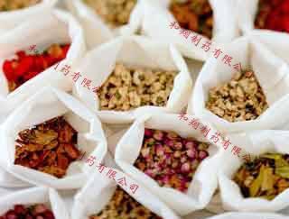 Chinese medicine slices