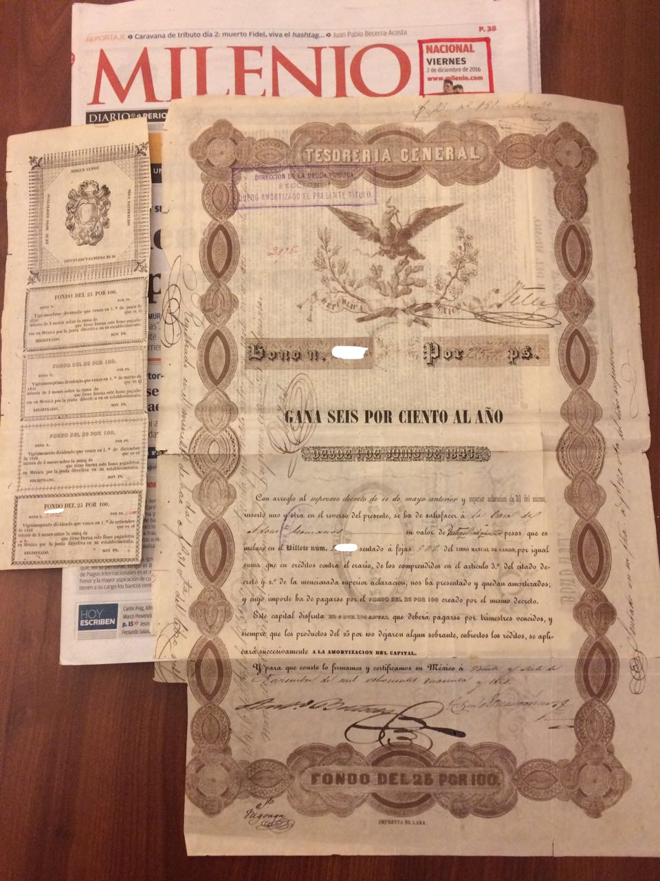 Eagle Bond/German Bond for sale