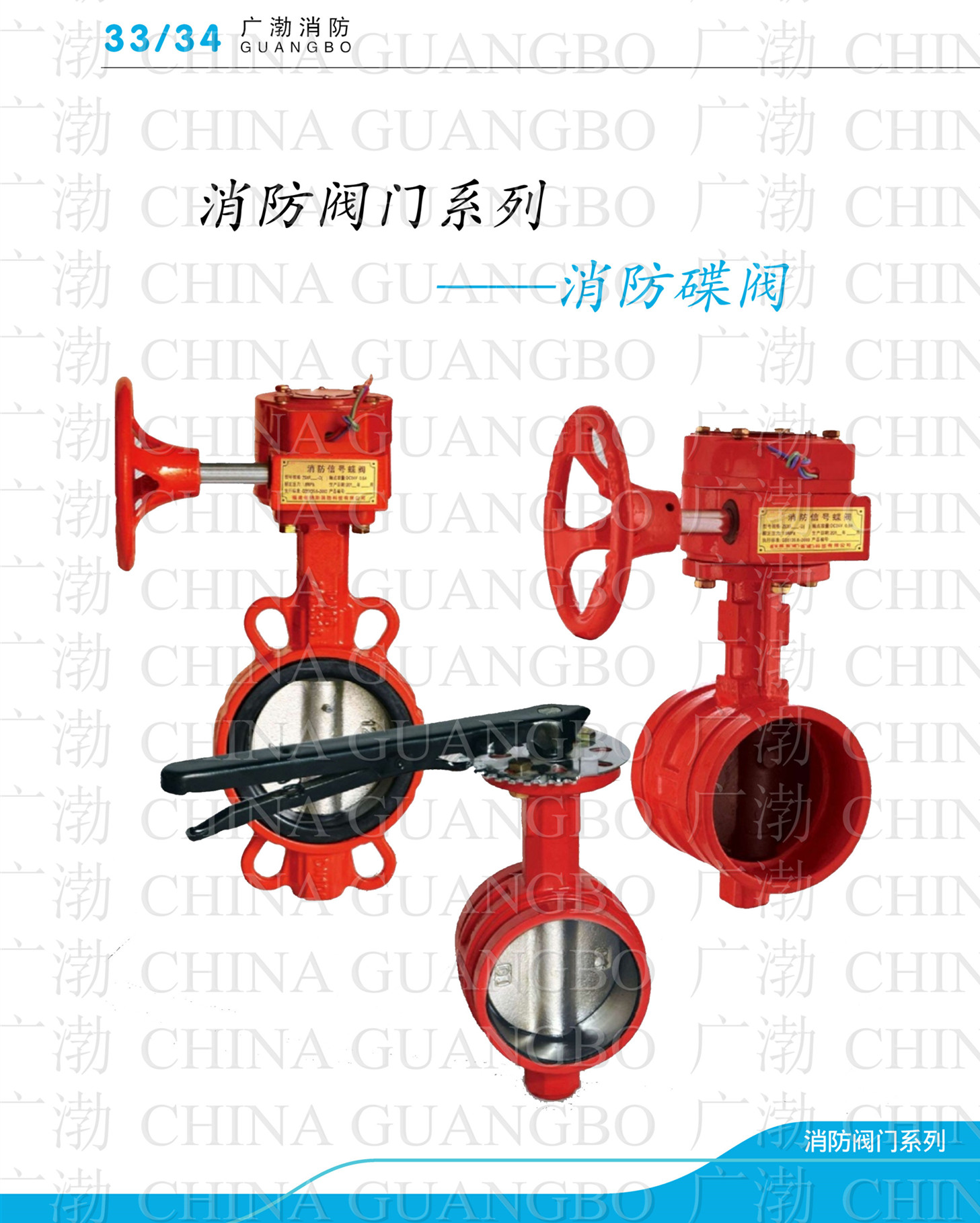 Sell Fire Signal Butterfly Valve Wafer Type