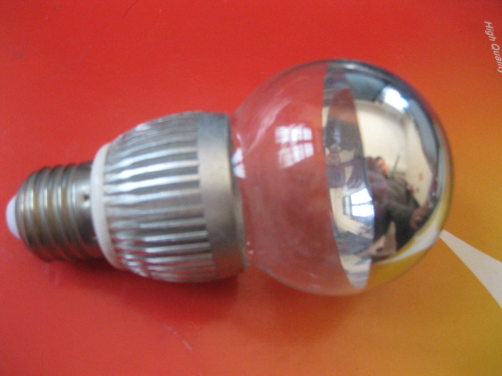 light bulb half mirror led light bulb from JIngliang