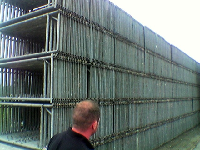 We buy and sell used scaffoldings and used formworks since 1999