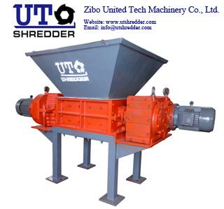 Double Shaft Shredder for plastic, wood, tire, metal, cable, paper, cloth crusher recycling