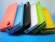 2000mAh backup power case for Iphone 5 5c 5s