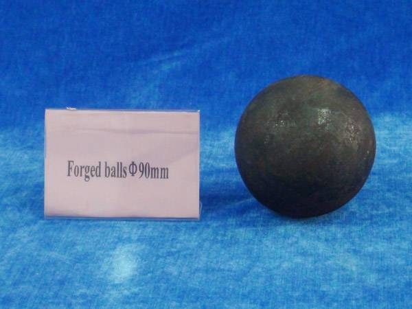 Forged steel media ball 90mm