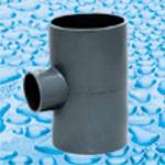 PVC Fittings for Water Supply With Solvent Joint DIN Standard PN10