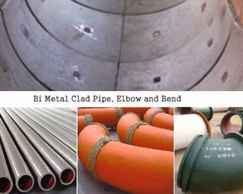 Bi Metal Clad Pipe
