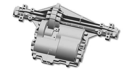 GX Aluminium OEM Die Casting Gear Box Housing