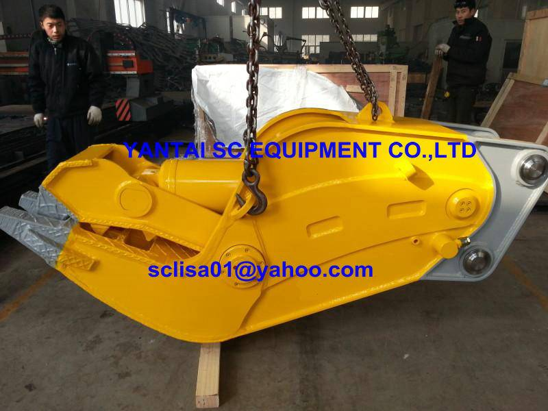 Multifunction Hydraulic Crusher, Demolition & Recycling. Concrete Demoltion. Steel Cutting