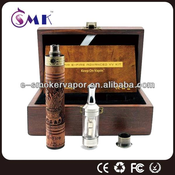 2014 Newest hot 1100mah v v wood e cig x fire e fire