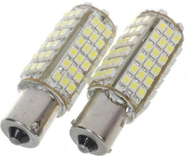Sell led ar lightings BA15S 1156 102 SMD LED Super White Car Turn Tail Light Bulb Lamp
