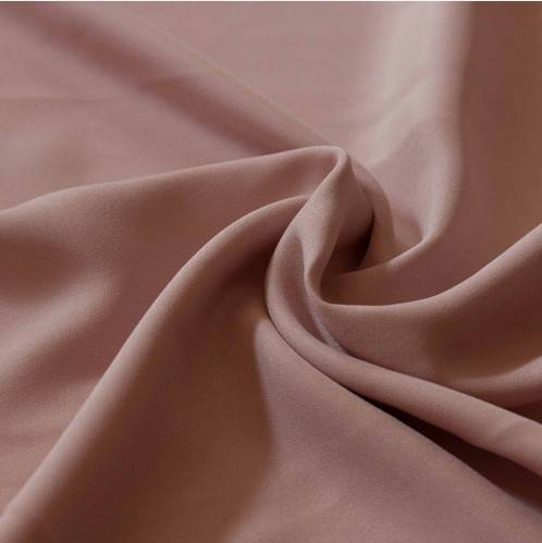 50D70D polyester false twist stretch satin weave fabric
