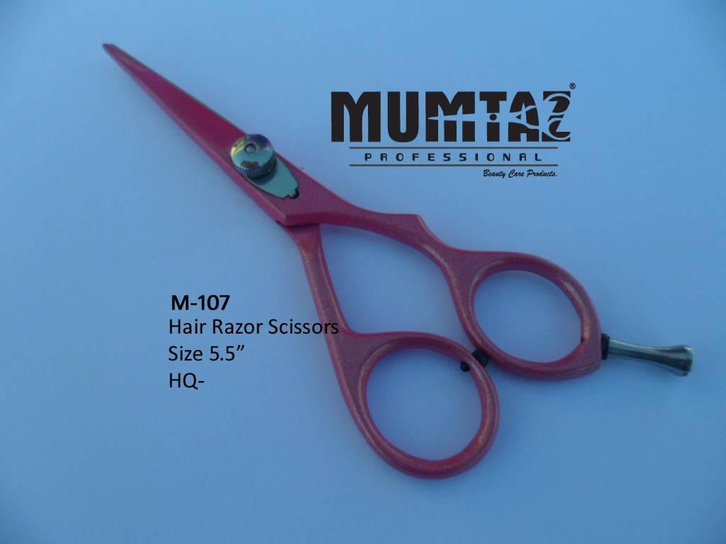 Hair Scissor Pink Color