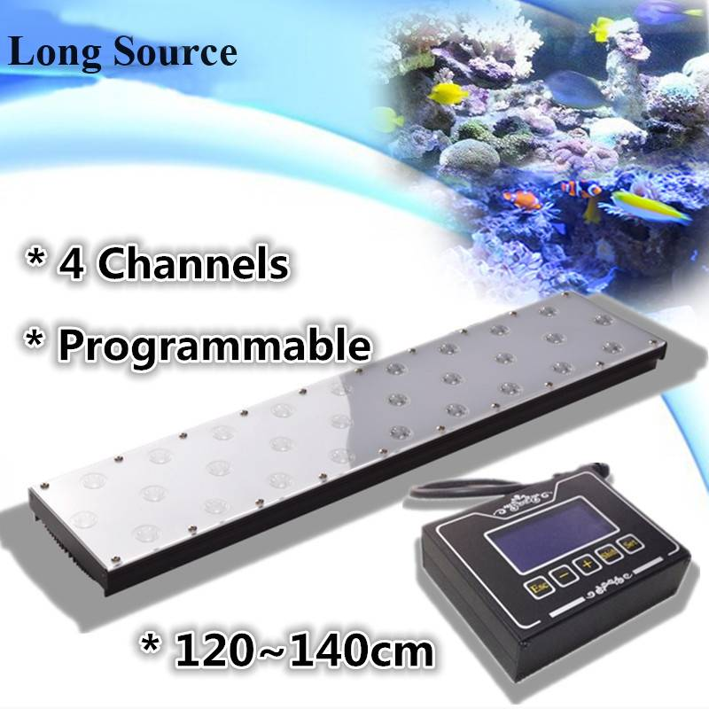 48'' Programmable Sunrise Sunset Moonlight Simulate LED Aquarium Lights