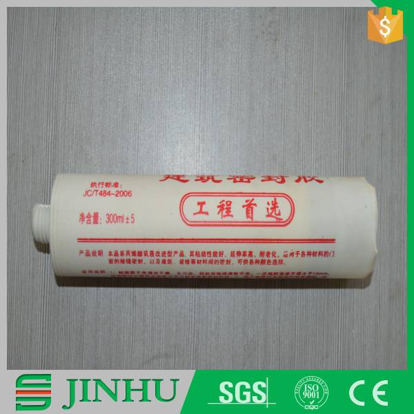 High quality acrylic silicone adhesives in tube for general purpose usage