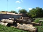 Heavy timber wood
