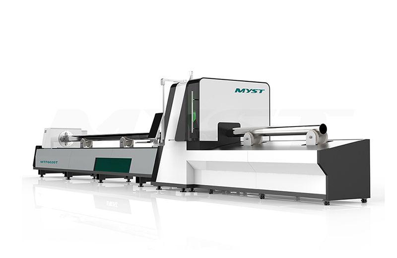 Metal Tube Laser Cutting MachineMTF6020T1 fiber laser cutter machinery supplier
