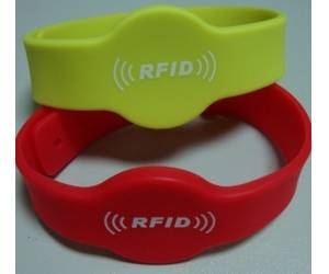 13.56mhz waterproof nfc silicon wristbands for outdoor activities