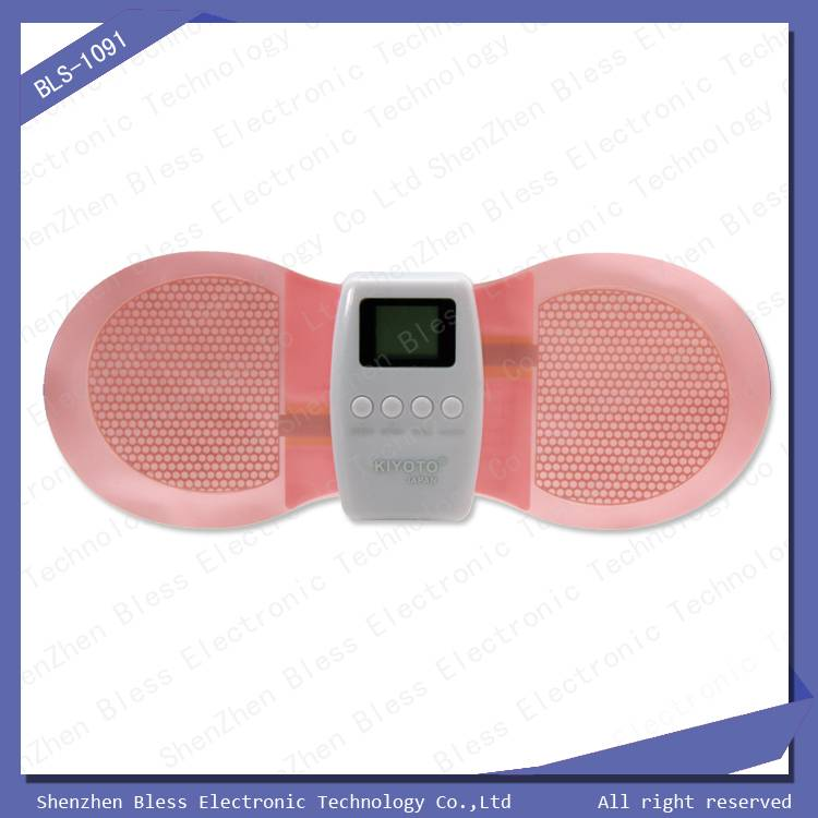 Top Selling LCD Display Butterfly Body Massage Pad