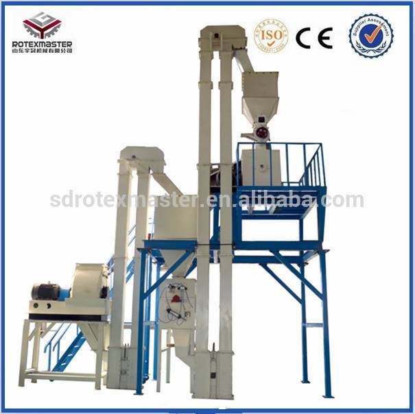 Ring Die Fine Feed Pellet Mill With CE Certificate
