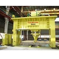 Portal press, Ram traveling press, Press, Hydraulic press, Shipyard machine